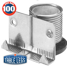 Economy ABS Cabinet And Furniture Leveler   Replacementtablelegs.com