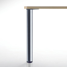 Ambassador Table Leg Height Stainless Steel Food Grade - 4 foot stainless steel table