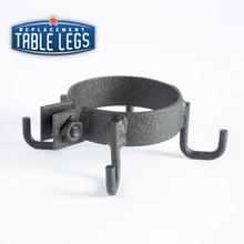 """Cast iron purse hook for 3"""" column"""