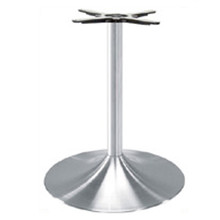 "TRUMPET TABLE BASE, Palermo Line, Aluminum, 28-1/2"" height, 22"" base spread, 2-5/8""diameter column - replacementtablelegs.com"
