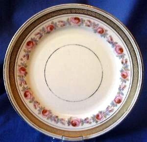 OLD!! English China ROSES Shabby Chic Plate S