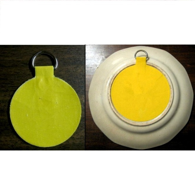 disc adhesive plate hanger instructions