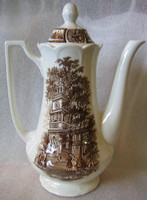 Brown Colonial Coffee Pot