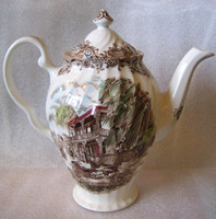 New Orleans Toile Coffee Pot www.DecorativeDishes.net