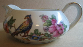 Chinoiserie Bird Small Pitcher www.DecorativeDishes.net