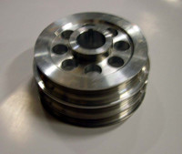 ISR (Formerly ISIS performance) Underdrive Crank Pulley - Nissan 240sx 91-98 KA24DE