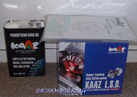 KAAZ - 1.5 Way LSD for Nissan 240sx Open Diff