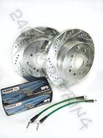 300ZX (Z32) Brake Conversion Package