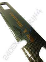 OEM Nissan RPS13 180SX Carbon Fiber Center Garnish - Nissan 240SX S13 89-94