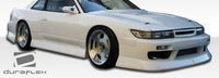 1989-1994 Nissan Silvia S13 Duraflex B-Sport Wide Body Front Fenders - 2 Piece
