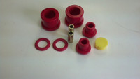 Energy Suspension 7.1118R Front & Rear Diff Bushing Kit S14 Red