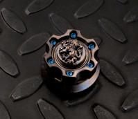 Crusader Lion Cog Ring Spin Set