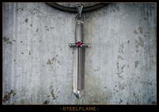 Large Virtus Dagger w/Synthetic Stone