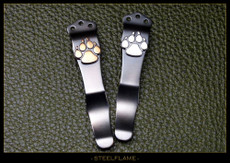 Dog Paw Knife Clip