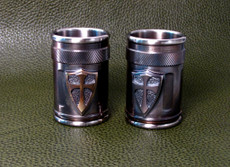 Custom Crusader Shot Glass