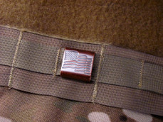 Steel Flame® Old Glory Molle Clips