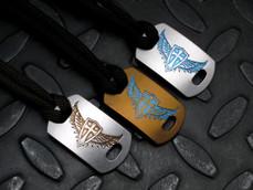 Titanium Crusader Wings Armor Tag