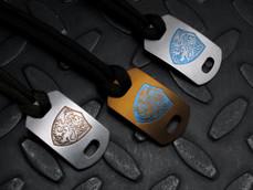 Titanium Crusader Lion Armor Tag
