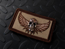 3D Bronze Darkness skull morale patch