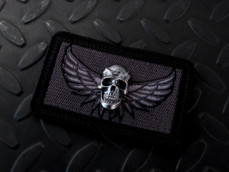 Silver 3D Darkness Patch