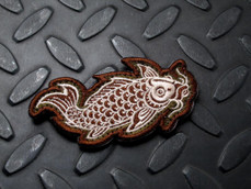 Steel Flame Koi patch