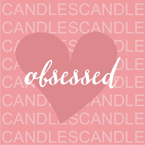 obsessed with candles free graphic