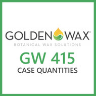 Golden Brands GW 415 Soy Wax Flakes - 50 lb. Case