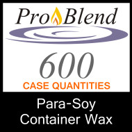 ProBlend 600 Para-Soy Container Wax - CASE