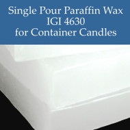 IGI 4630 Single Pour Container Paraffin Wax