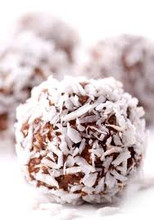Coco - choco : like the SNOWBALLS cookie !!