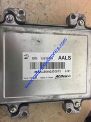 Engine ECU, ACDelco, 12636331, AALS, E83