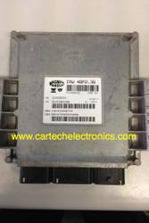 Plug & Play Engine ECU Magneti Marelli IAW 48P2.36 HW 16469034 HW9642606280 SW 16454074 SW 9643922580