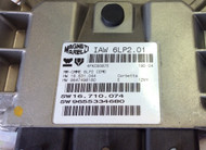 Plug & Play or Reset Engine ECU, IAW 6LP2.0,1 HW 16.631.044, HW 9647498180, SW 16.710.074, SW 9655334680
