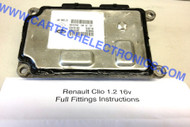 Plug & Play Renault Clio 1.2 16V Engine ECU IAW 5NR2.C5 8200181482  8200262881