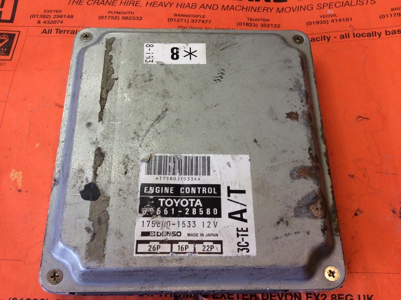Plug  U0026 Play Toyota Denso Engine Ecu  89661