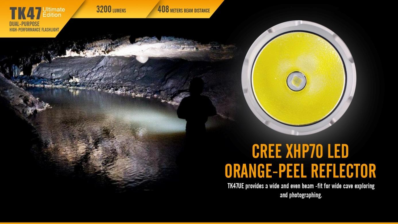 Fenix TK47 Dual-Purpose LED Flashlight Ultimate Edition