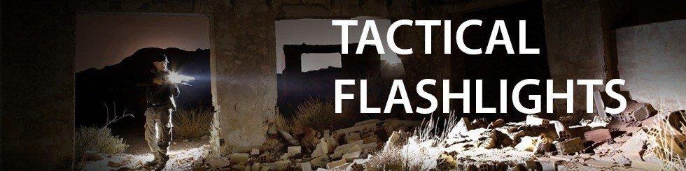 Fenix tactical flashlights