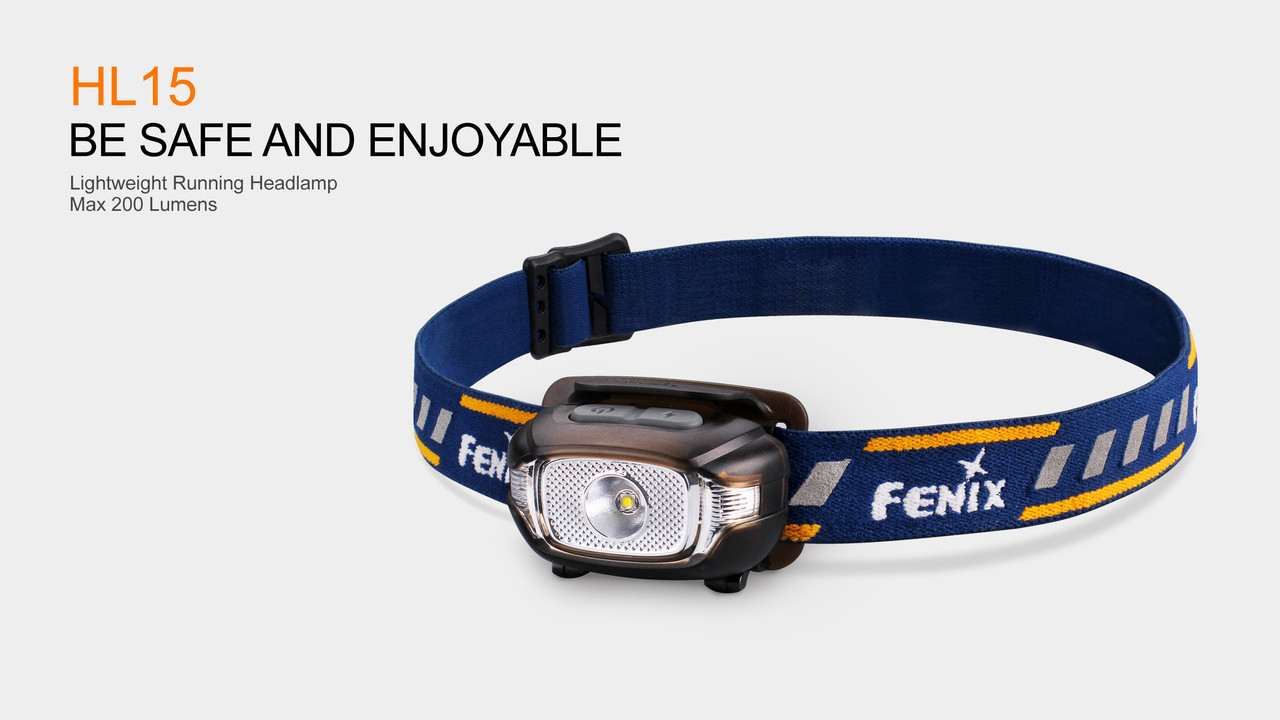 Fenix HP15 LED Headlamp Three Colors