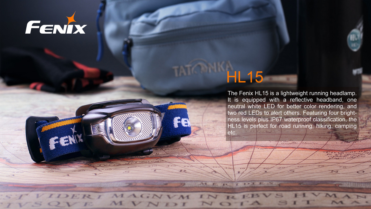Fenix HP15 Running and Walking Headlamp