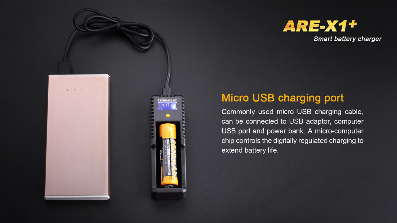 Fenix ARE-X1+ Smart Charger - Power Bank