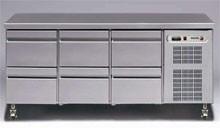 Fagor 1800mm Bench Fridge with Drawers