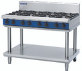 Blue Seal G518D-LS Heavy Duty 8 Burner Gas Cook Top