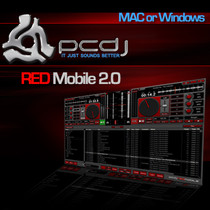PCDJ Red Mobile 2.0 DJ Software
