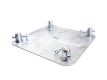 "GLOBAL TRUSS SQ-4137 12""x12"" Aluminum Base Plate"