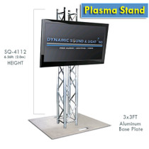 Global Truss Plasma Stand 6 Ft Totem