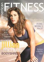 American Fitness Cover 2013
