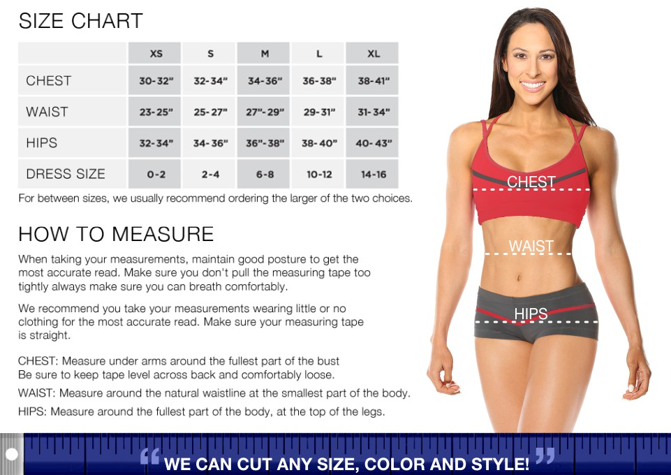 Size Chart / How to Measure
