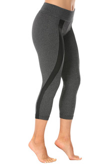 Mars Gray Padmé 3/4 Leggings - READY