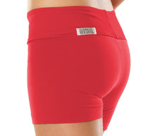 "Sport Band Shorts - VEGAS RED - FINAL SALE - SMALL - 2"" INSEAM - 10"" SIDES (1 AVAILABLE)"