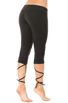 Dance Lace-Up 3/4 Leggings
